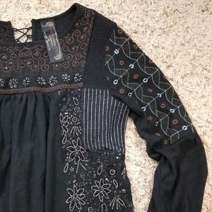 🍒EUC🍒 FREE PEOPLE NEW ROMANTICS TOP
